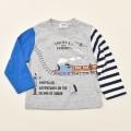 きかんしゃトーマス 長袖Tシャツ グレー 90cm-120cm(342166302-03)