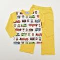 きかんしゃトーマス 光る Tシャツ生地 長袖パジャマ 蓄光 100~120cm(031TM108)