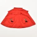 レトロ おとぎの国 のケープ 刺繍付きコート 24か月 (2002-1247)