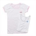 女児 半袖  丸首シャツ 2枚組 肌着 160cm (2002-1394)