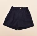 レトロ イヴ・サンローラン  半ズボン ショートパンツ ネイビー 120cm (2003-1489)
