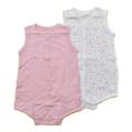 フーセンウサギ 袖なしボディシャツ2枚セット 70cm (232185-PK)