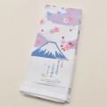 日本製  表ガーゼ 裏パイル  フェイスタオル 綿100% 34cm×90cm 1枚 (111088-H)