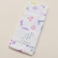 日本製  表ガーゼ 裏パイル  フェイスタオル 綿100% 34cm×90cm 1枚 (111088-U)