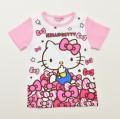 ハローキティ  半袖Tシャツ 100cm-130cm (042KT0011)