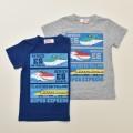 でんたま(新幹線)半袖Tシャツ 90cm-130cm (042DT0011)
