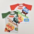 アンパンマン バイキンマン 半袖Tシャツ   90cm-100cm (TA3235)