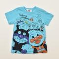 アンパンマン だだんだんバイキンマン 半袖Tシャツ   90cm-100cm (TA3221)