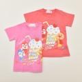 アンパンマン ガール ドキンちゃん コキンちゃん 半袖Tシャツ   90cm-100cm (TA3240)