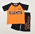 野球 球団 ニフォーム風 ジャイアンツ半袖Tシャツ スーツ 90cm/95cm (86870506-G)