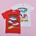 でんたま(新幹線)半袖Tシャツ 100cm-130cm (042DT0021)