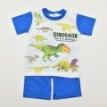 ダイナソー(恐竜) 半袖Tシャツ生地のパジャマ 100-130cm(032DN0071)