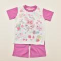 サンリオ マイメロディ  半袖Tシャツ生地のパジャマ  100-130cm(032MM0071)