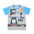 プラレール  (タカラトミー)半袖Tシャツ 100cm-120cm (55P009)