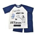 アイム ドラえもん  半袖Tシャツ生地のパジャマ ジュニア 130cm-150cm  (032DR0072)