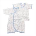 日本製 新生児   肌着 コンビ 50-60 cm 2点セット 動物   (7062-SX)