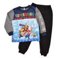 スーパーマリオ パジャマ 光るパジャマ 長袖パジャマ(2528201A)