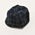 レトロ 日本製 帽子 チャイルド ネイビー キャップ (2010-2926)