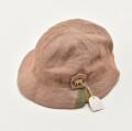 レトロ 日本製 帽子 ハット ベージュ (2010-2948)