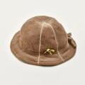 レトロ 日本製 帽子 ハット ベージュ (2010-2950)