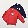 レトロ チャイルド 無地 衿つきセーター (2011-3090)