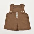 レトロ おとぎの国 のジャンパースカート 1-2才 (2011-3126)