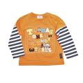 きかんしゃトーマス  長袖Tシャツ オレンジ (322161007-22)