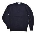 FIRST BEAT スクールニットVセーター  紺色 140/150/160 (3265L)