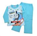 きかんしゃトーマス 光る Tシャツ生地 長袖パジャマ (131TM8071)