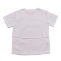 半袖Tシャツ ホワイト 無地 綿100% 95cm(75101)