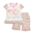 サンリオ マイメロディ  光る半袖パジャマ 100-130cm(132MM0041)