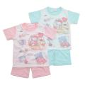 サンリオ キャラクターズ 半袖Tシャツ生地のパジャマ  100-130cm(132SK0071)