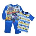 アンパンマン だだんだん  光るパジャマ 2TOPS 長袖 半袖パジャマ (2554226)
