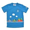 きかんしゃトーマス 半袖Tシャツ ブルー 90cm-130cm (322162019-80)