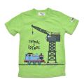 きかんしゃトーマス 半袖Tシャツ グリーン 90cm-130cm (322162019-60)
