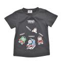 きかんしゃトーマス 半袖Tシャツ  グレー 90cm-130cm (322162022-04)