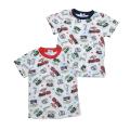 きかんしゃトーマス 半袖Tシャツ 総柄 80cm-130cm (322162023)