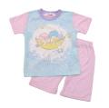 サンリオ リトルツインスター 光る 半袖Tシャツ生地のパジャマ  100-130cm(132TS0101-PK)