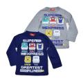 でんたま(新幹線)  長袖Tシャツ 100cm-130cm(143DT4011)