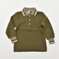 レトロ チャイルドの長袖ポロシャツ 100cm(1910-0182)