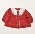 レトロ  刺繍付き 上着 Lサイズ(90cm)(1910-0244)