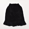 レトロ チャイルド まきスカート ブラック 105cm (1910-0248)
