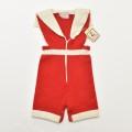 レトロ ヘンケル ニット セーラー衿 ショートパンツ Mサイズ (1910-0300)