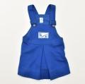 レトロ おとぎの国 スカート ブルー 12か月 (1910-0322)