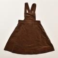 レトロ フクスケ ジャンパースカート 茶色 100cm (1910-0333)