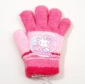 日本製 サンリオ ハローキティ 手袋 5本指 13.5cm (KT1610-135)