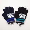 コンバース converse のびのび 手袋 5本指 すべり止めつき (CO1610-B)