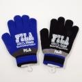 フィラ(FILA) のびのび 手袋  5本指 すべり止めつき (FI1610-B)