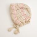 可愛いニット帽子 手編み フリーサイズ (1611-2301)