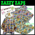 ZazzyZaps ザジーザップス レインポンチョ★はたらく車★(6721521)